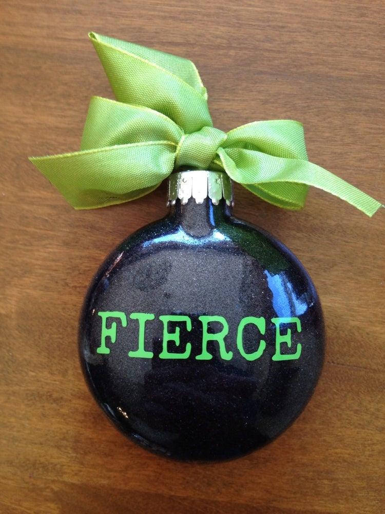 Image of Fierce Design Ornament