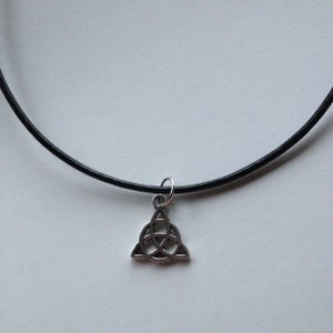 Image of Triquetra Cord Choker