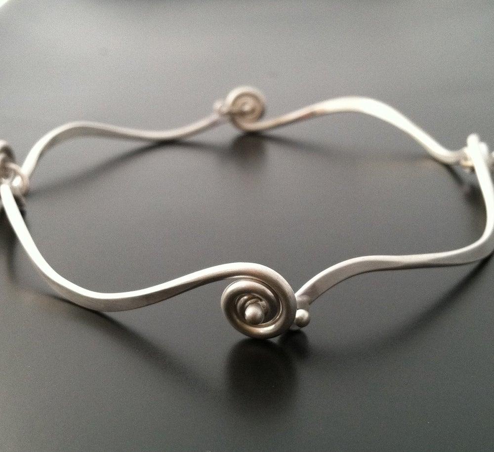 Image of Fiddlehead Bracelet
