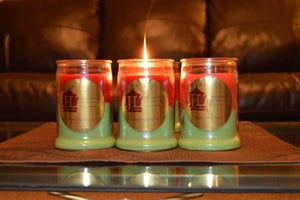 Image of Christmas Candle (Pumpkin Scents)