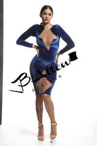 Image of Blue velvet x nude