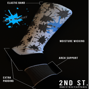 Image of Laxsplat Splatter Sock