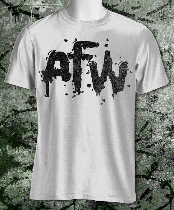 Image of AFW White Logo Tee