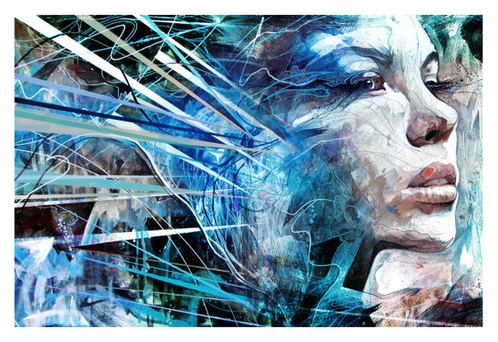 """Image of """"Singin' The Blues"""" Open Edition Print"""