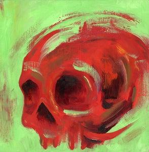 Image of Mini Skull - Danielle's Christmas Skull