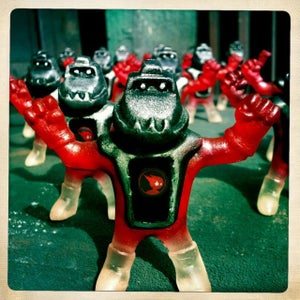 Image of TOYSREVIL-Edition Turtle Tetsujins from Peter Kato