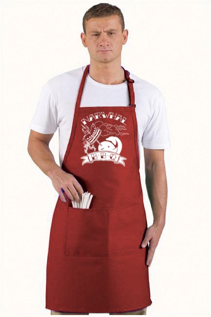 Image of Narwhal BBQ Apron
