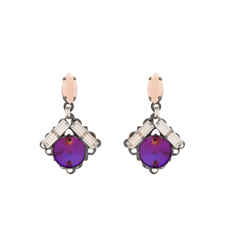 Image of Purple Haze Earrings