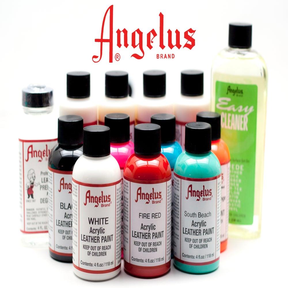 ots angelus acryl leder farbe angelus acrylic leather paint. Black Bedroom Furniture Sets. Home Design Ideas