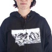 Image of Montana Closer Zip-Up Hooded Sweatshirt