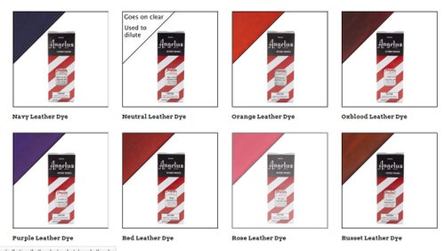 Image of Angelus Leder Farbe Beschichtung/Angelus Leather Dye 88,72ml