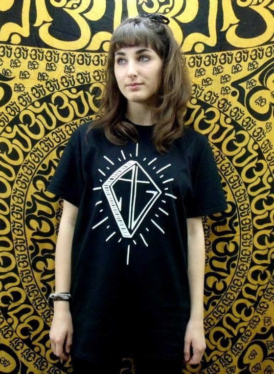 Image of Black diamond logo t-shirt