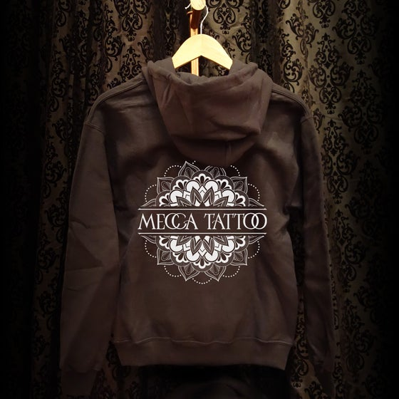 Image of Mecca Mandala Zip Up Hoodie