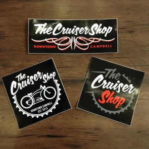 Image of The Cruiser Shop Sticker Pack