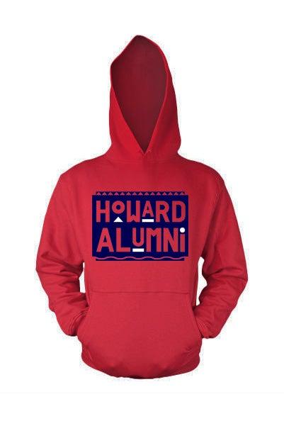 Image of Vintage HU - Red & Blue (Hoodie)