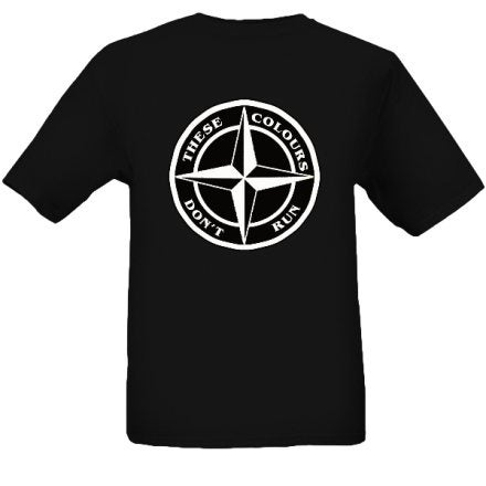 Image of These Colours Don't Run Star Design T-Shirt.