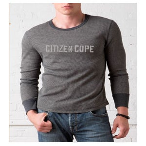 Image of Cope Stencil Gray Eco Long-Sleeve