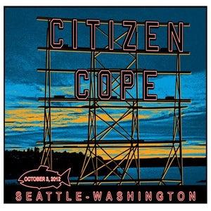 Image of 2012 - Seattle, WA. Poster
