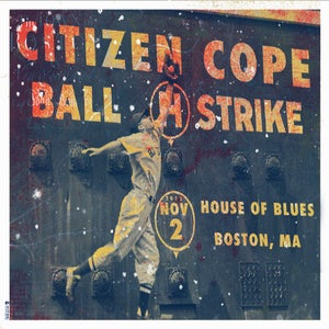 Image of 2012 Boston - House of Blues Poster