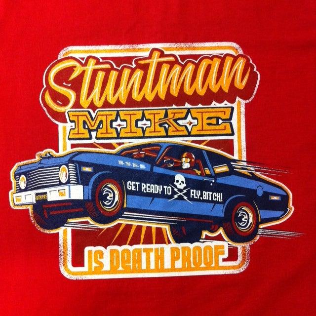 Image of Stuntman Mike - Ladies & Guys T-Shirt