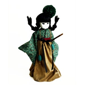 "Image of *NEW* 14"" 'Maeandri' CUSTOM/COUTURE Little Apple Doll"