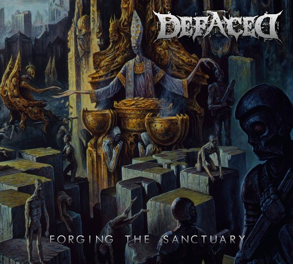 Image of DEFACED - Forging The Sanctuary CD [Digipack]
