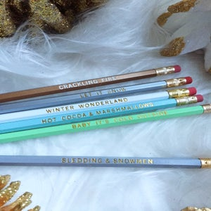 Image of Pencil Set :: Winter Wonderland