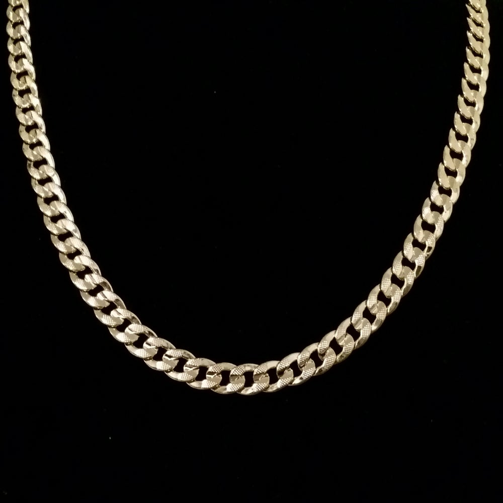 Gold diamond chain