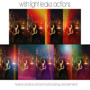 Image of *NEW* Wish Light Leaks for Photoshop CS3-CS6 and Elements 10-12