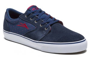 Image of Lakai Ltd. Fura X Chocolate Skateboards 20-Year Shoes - Navy / Suede