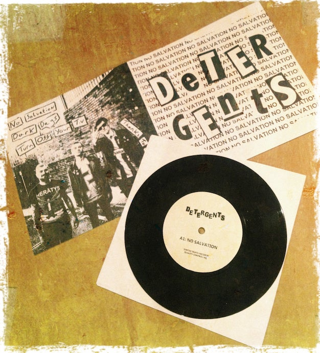 Image of Detergents 'No Salvation' 7""