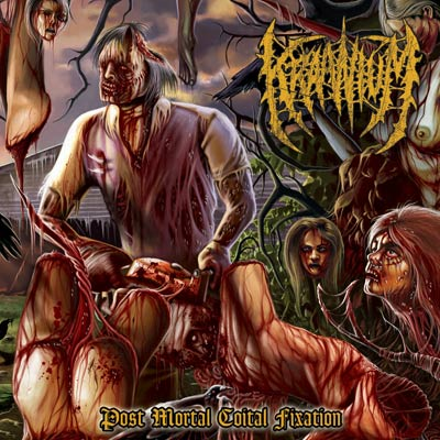 Image of KRAANIUM - Post Mortal Coital Fixation CD