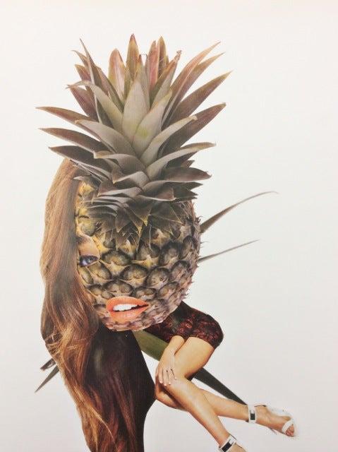 Image of Fallen Fruit Factory - Pineapple Pin-up