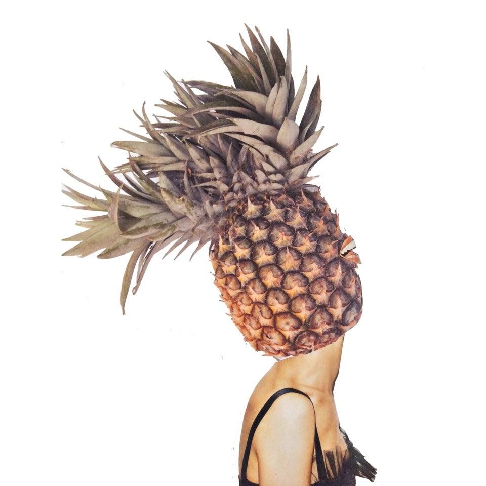 Image of Fallen Fruit- Sarah Jessica Pineapple