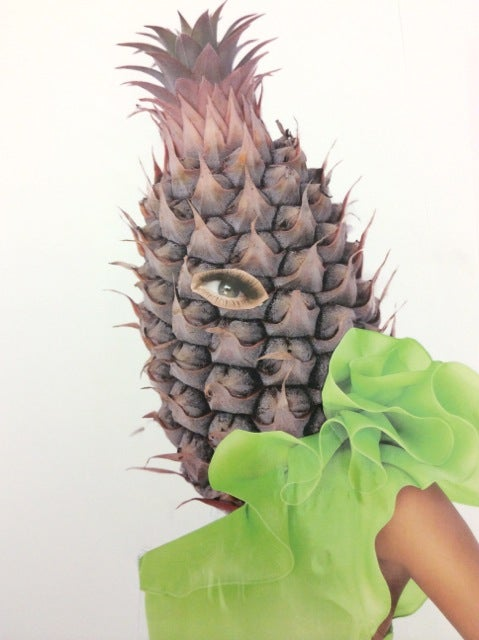 Image of Fallen Fruit - Pineapple A La Mode