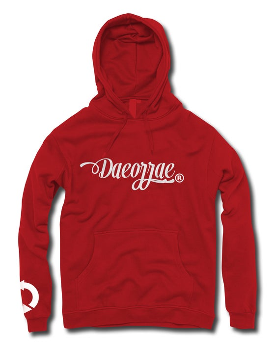 Image of Daeorrae Original Hoodie -Red