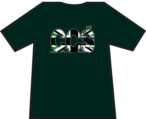 Image of Hibs, Hibernian, CCS British Writing, Capital City Service, Casuals, Football Hooligans T-shirt