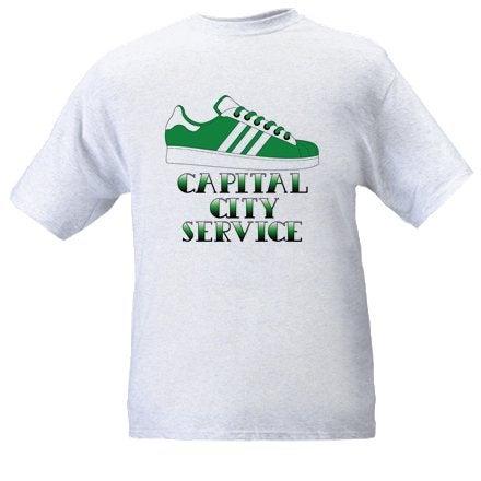 Image of Hibs, Hibernian, CCS, Capital City Service, Trainer, Casuals, Football Hooligans T-shirt