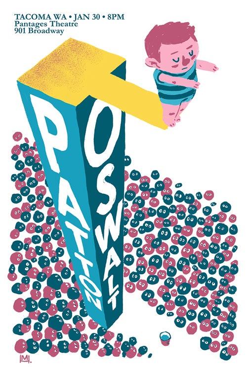 Image of PATTON OSWALT Tacoma Jan. 30 Poster