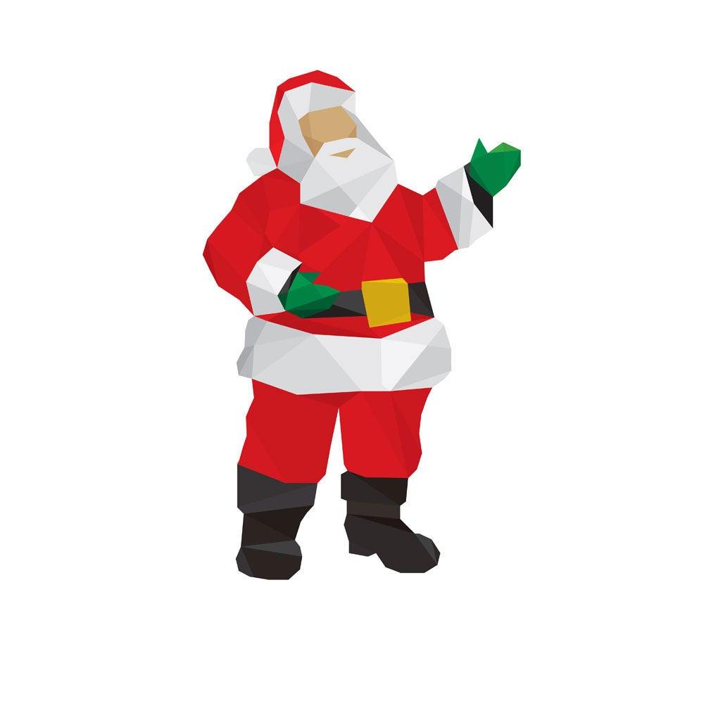 Image of Polygon Christmas Cards