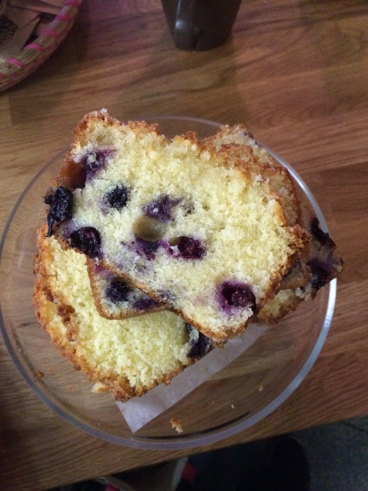 Image of Lemon Blueberry Bread