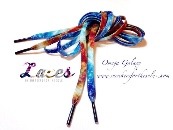 Image of Omega Galaxy laces