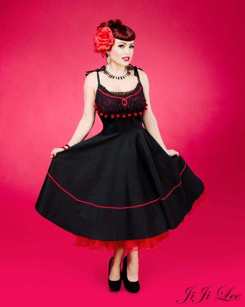 """Image of """"Paloma"""" Spanish inspired dress"""