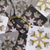 Image of Pack of 8 Snowflake Gift Tags.