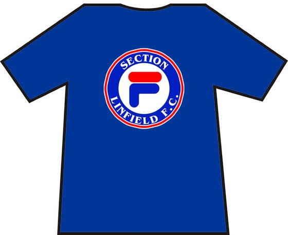 Image of Linfield, Section F Casuals T-shirts, Ranger, Britain T-Shirts