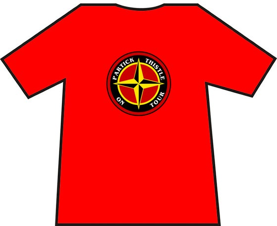 Image of Partick Thistle On Tour T-shirt.