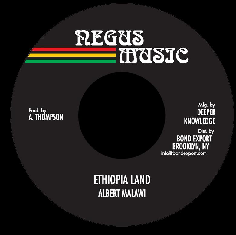 "Image of Albert Malawi - Ethiopia Land 7"" (Negus Music)"
