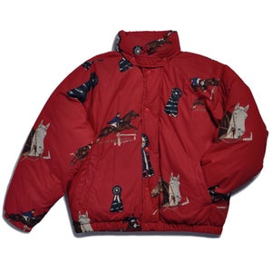 Image of 90s POLO RALPH LAUREN EQUESTRIAN PUFFA