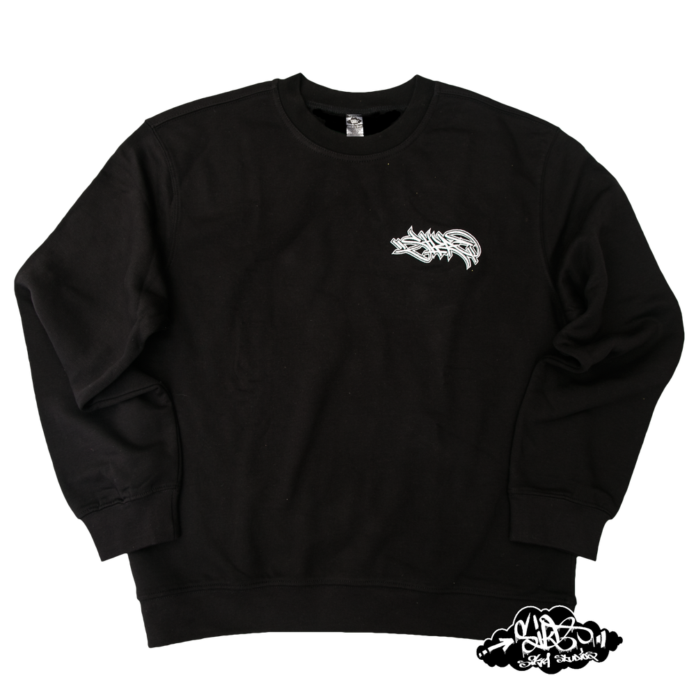 Image of SIKA x ZENAL embroidered handstyle premium sweater