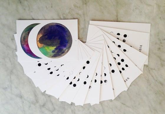 Image of 2015 Moon Calendar